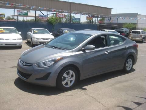 2014 Hyundai Elantra for sale at Town and Country Motors - 1702 East Van Buren Street in Phoenix AZ