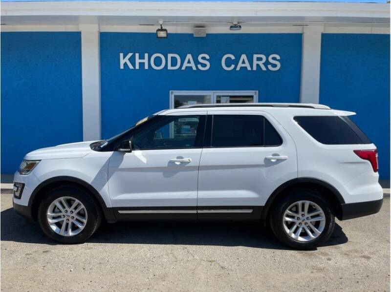 2017 Ford Explorer for sale at Khodas Cars in Gilroy CA