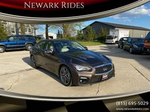 2014 Infiniti Q50 for sale at Newark Rides in Newark IL