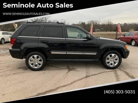 2008 Jeep Grand Cherokee for sale at Seminole Auto Sales in Seminole OK