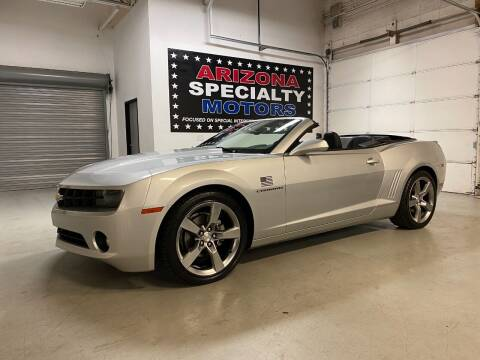 2012 Chevrolet Camaro for sale at Arizona Specialty Motors in Tempe AZ