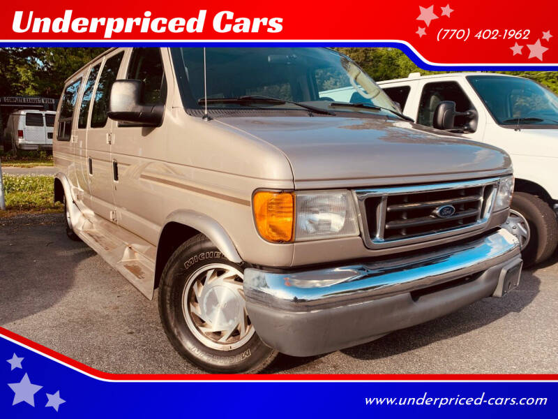 2003 Ford E-Series Cargo for sale at Underpriced Cars in Marietta GA