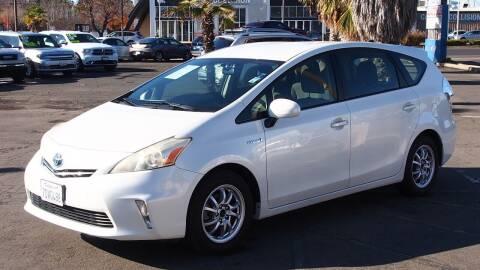 2014 Toyota Prius v for sale at Okaidi Auto Sales in Sacramento CA