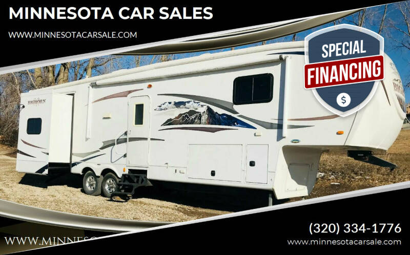 2010 Heartland Big Horn for sale at MINNESOTA CAR SALES in Starbuck MN