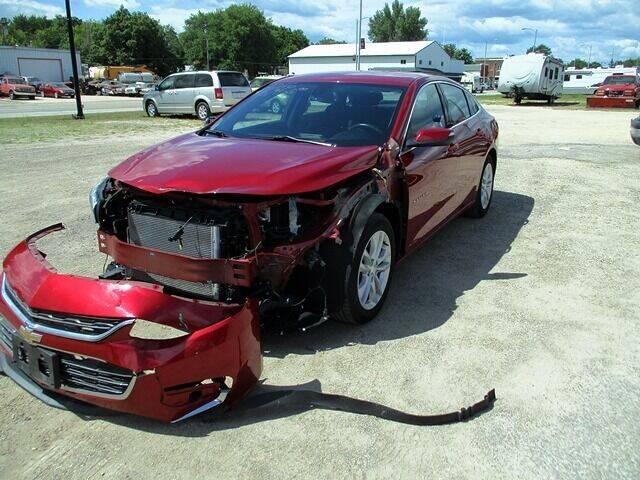 2016 Chevrolet Malibu for sale at Northeast Iowa Auto Sales - Repairables in Hazleton IA