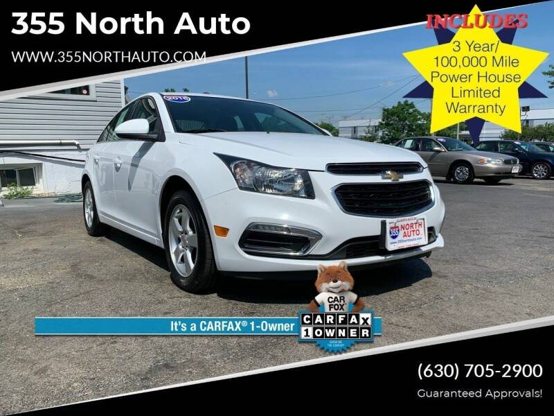 2016 Chevrolet Cruze Limited for sale at 355 North Auto in Lombard IL