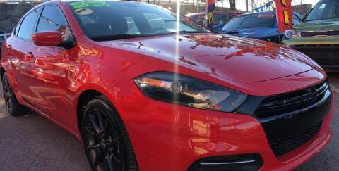 2016 Dodge Dart for sale at Duke City Auto LLC in Gallup NM