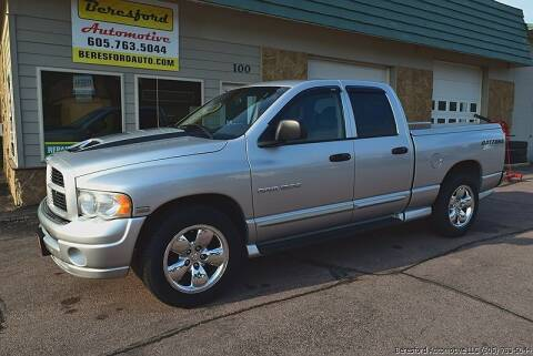 2005 Dodge Ram Pickup 1500 for sale at Beresford Automotive in Beresford SD