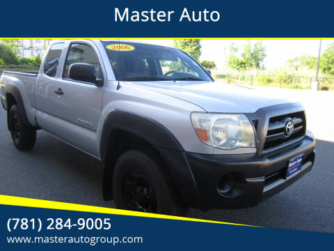 2006 Toyota Tacoma for sale at Master Auto in Revere MA