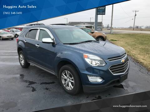 2017 Chevrolet Equinox for sale at Huggins Auto Sales in Hartford City IN