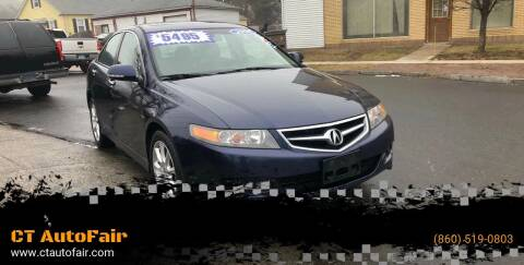 2006 Acura TSX for sale at CT AutoFair in West Hartford CT