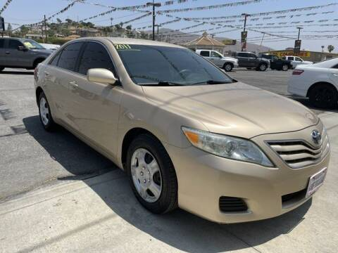2011 Toyota Camry for sale at Los Compadres Auto Sales in Riverside CA