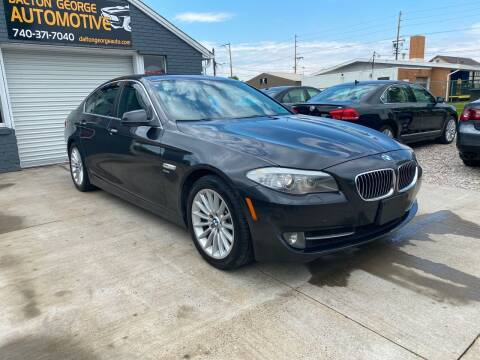 2011 BMW 5 Series for sale at Dalton George Automotive in Marietta OH