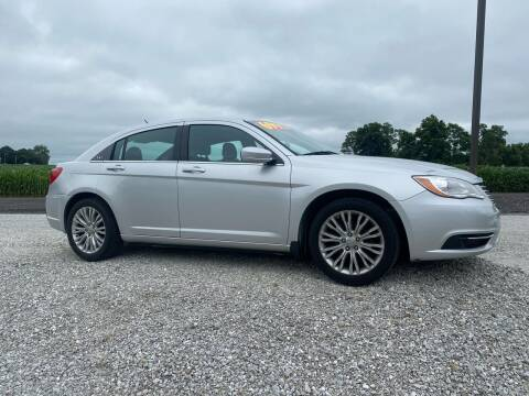 2012 Chrysler 200 for sale at MOES AUTO SALES in Spiceland IN