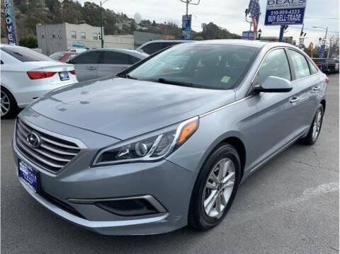 2017 Hyundai Sonata for sale at AutoDeals in Hayward CA