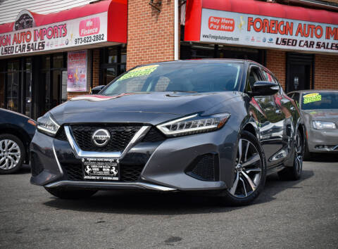 2019 Nissan Maxima for sale at Foreign Auto Imports in Irvington NJ