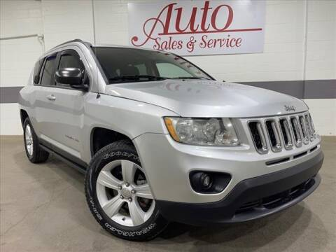 2011 Jeep Compass for sale at Auto Sales & Service Wholesale in Indianapolis IN