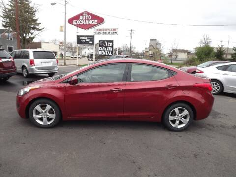 2013 Hyundai Elantra for sale at The Auto Exchange in Stevens Point WI