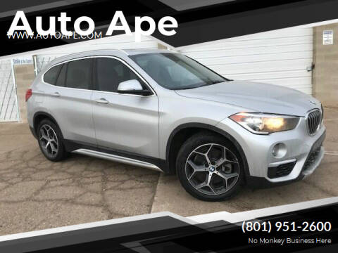 2018 BMW X1 for sale at Auto Ape in Salt Lake City UT
