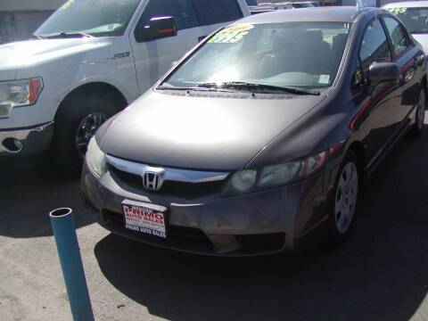 2009 Honda Civic for sale at Primo Auto Sales in Merced CA