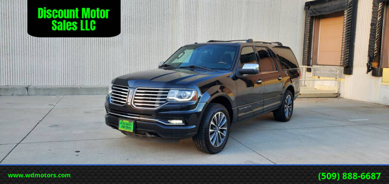 2015 Lincoln Navigator L for sale at Discount Motor Sales LLC in Wenatchee WA