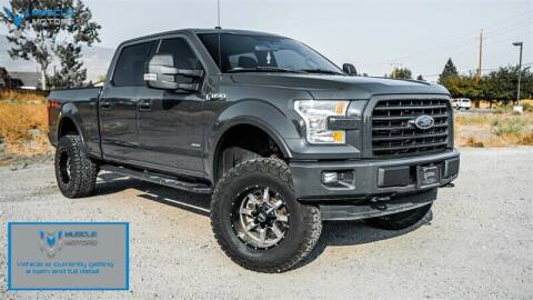2016 Ford F-150 for sale at MUSCLE MOTORS AUTO SALES INC in Reno NV