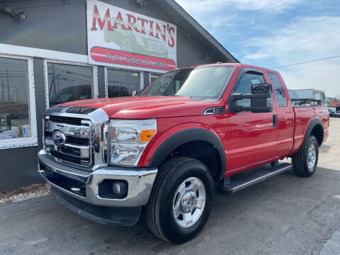 2011 Ford F-250 Super Duty for sale at Martins Auto Sales in Shelbyville KY