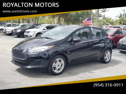 2018 Ford Fiesta for sale at ROYALTON MOTORS in Plantation FL