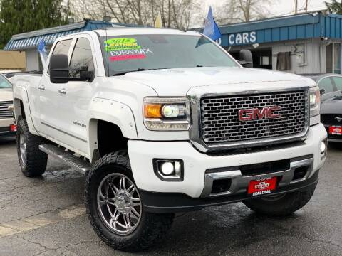 2015 GMC Sierra 3500HD for sale at Real Deal Cars in Everett WA