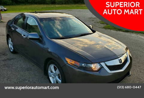 2010 Acura TSX for sale at SUPERIOR AUTO MART in Amelia OH