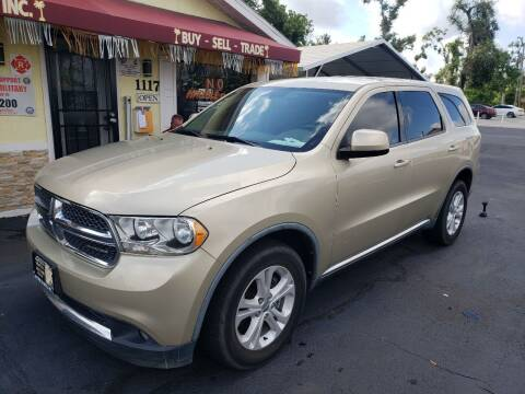 2011 Dodge Durango for sale at ANYTHING ON WHEELS INC in Deland FL
