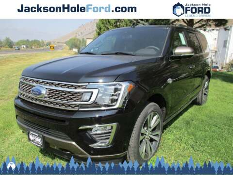 2020 Ford Expedition for sale at Jackson Hole Ford of Alpine in Alpine WY
