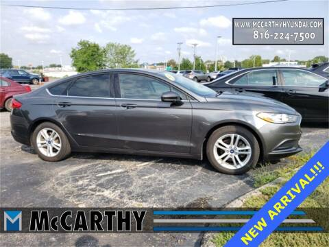 2018 Ford Fusion for sale at Mr. KC Cars - McCarthy Hyundai in Blue Springs MO