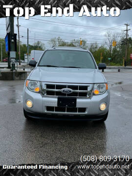 2012 Ford Escape for sale at Top End Auto in North Atteboro MA
