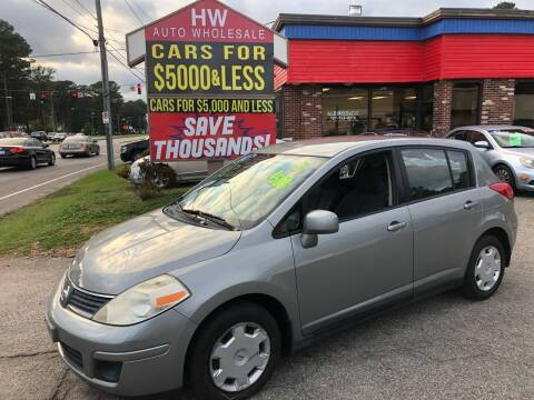 2007 Nissan Versa for sale at HW Auto Wholesale in Norfolk VA