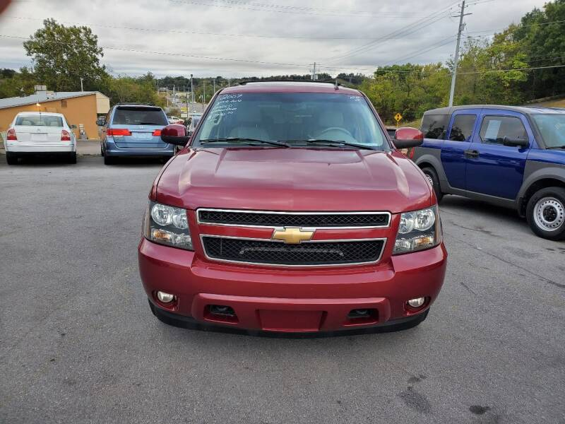 2007 Chevrolet Tahoe for sale at DISCOUNT AUTO SALES in Johnson City TN
