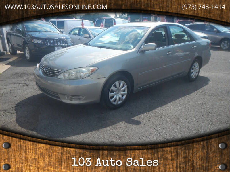 2006 Toyota Camry for sale at 103 Auto Sales in Bloomfield NJ
