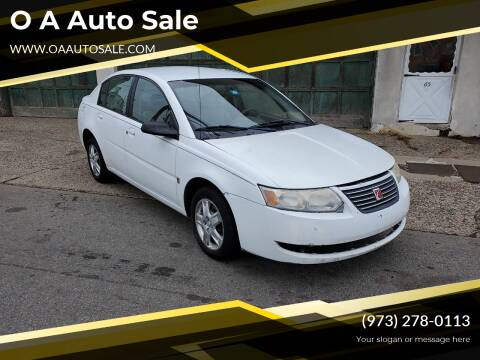 2007 Saturn Ion for sale at O A Auto Sale in Paterson NJ