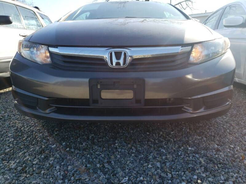 2012 Honda Civic for sale at RMB Auto Sales Corp in Copiague NY