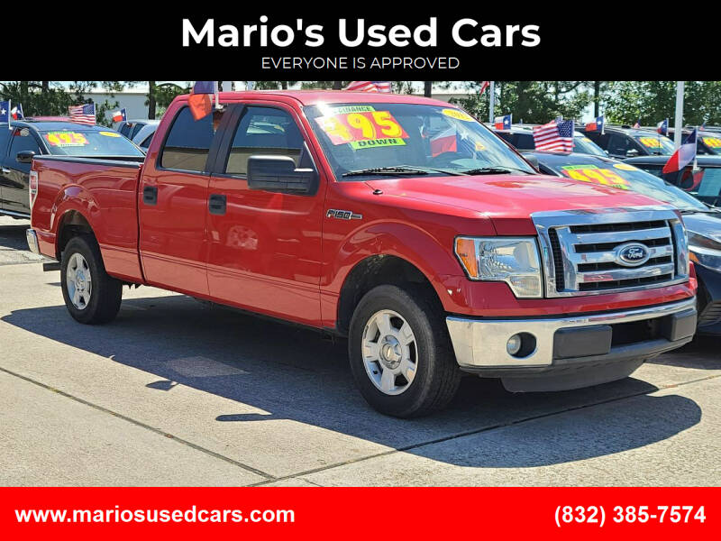 2012 Ford F-150 for sale at Mario's Used Cars in Houston TX