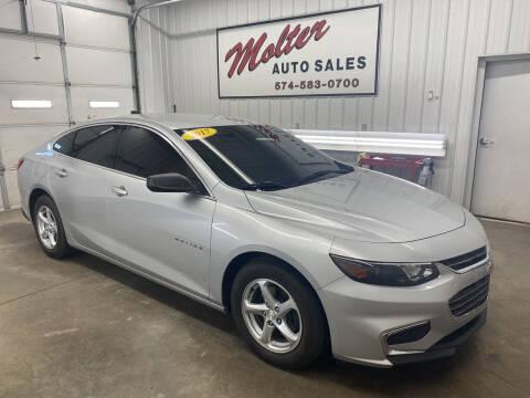 2017 Chevrolet Malibu for sale at MOLTER AUTO SALES in Monticello IN