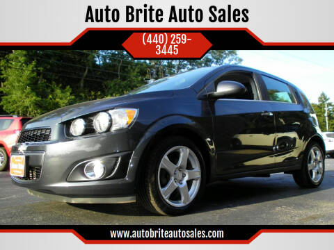 2015 Chevrolet Sonic for sale at Auto Brite Auto Sales in Perry OH