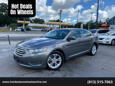 2013 Ford Taurus for sale at Hot Deals On Wheels in Tampa FL