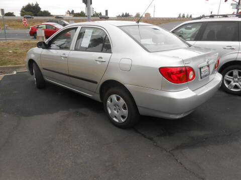 2003 Toyota Corolla for sale at Sutherlands Auto Center in Rohnert Park CA