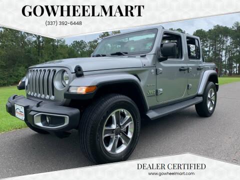 2019 Jeep Wrangler Unlimited for sale at GOWHEELMART in Leesville LA