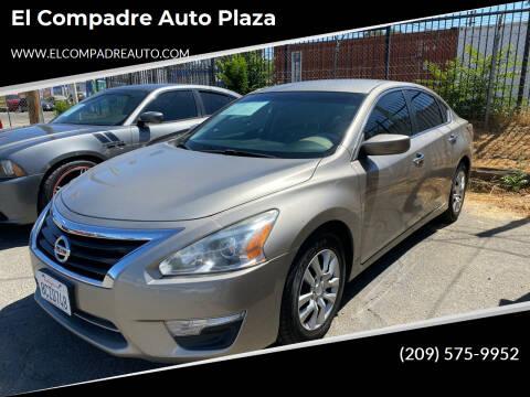 2014 Nissan Altima for sale at El Compadre Auto Plaza in Modesto CA