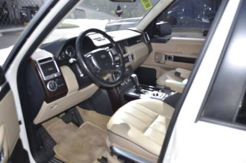 2007 Land Rover Range Rover for sale at Zak Motor Group in Deerfield Beach FL