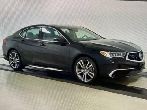 2019 Acura TLX for sale at JOE BULLARD USED CARS in Mobile AL