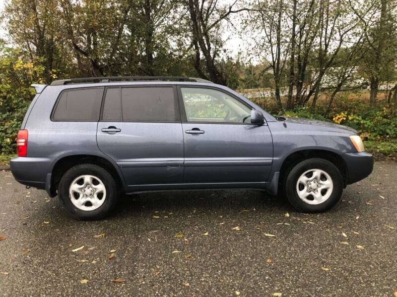 2002 Toyota Highlander for sale at Grandview Motors Inc. in Gig Harbor WA