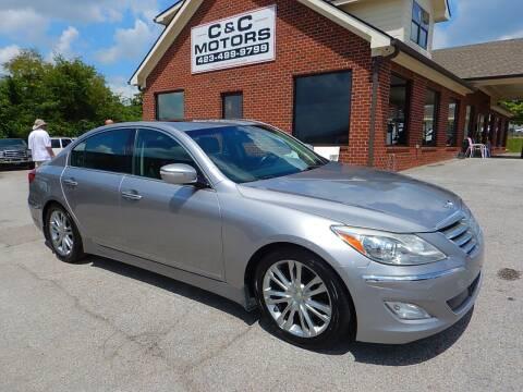 2012 Hyundai Genesis for sale at C & C MOTORS in Chattanooga TN